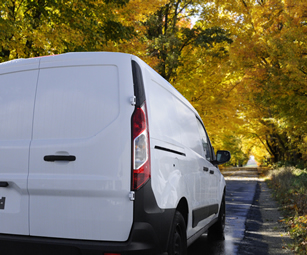 A van, covered by a van insurance policy arranged by CSW Insurance Brokers.